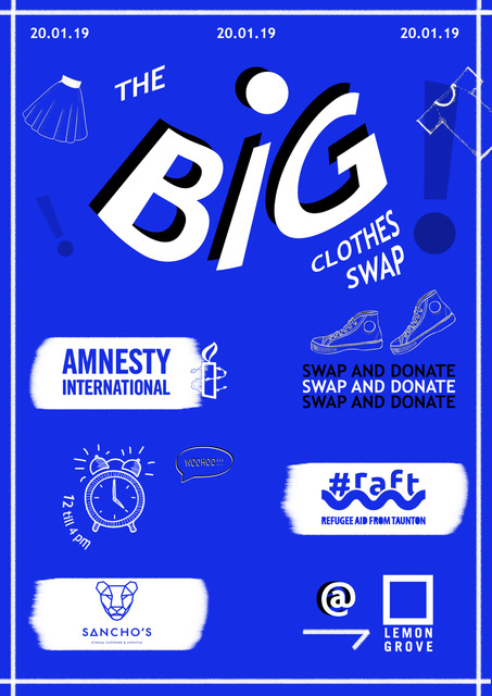 The Big Clothes Swap for Amnesty International