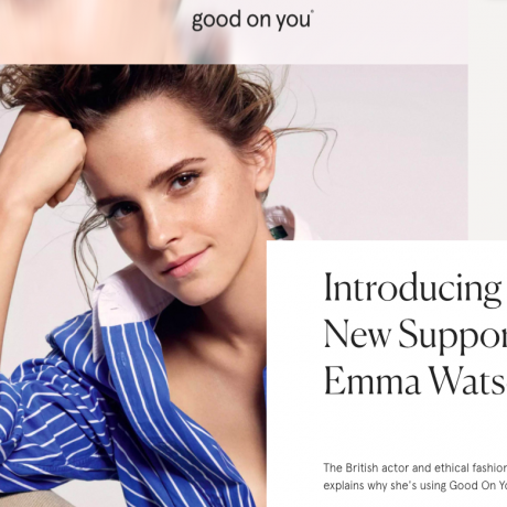 Good On You, Emma Watson!