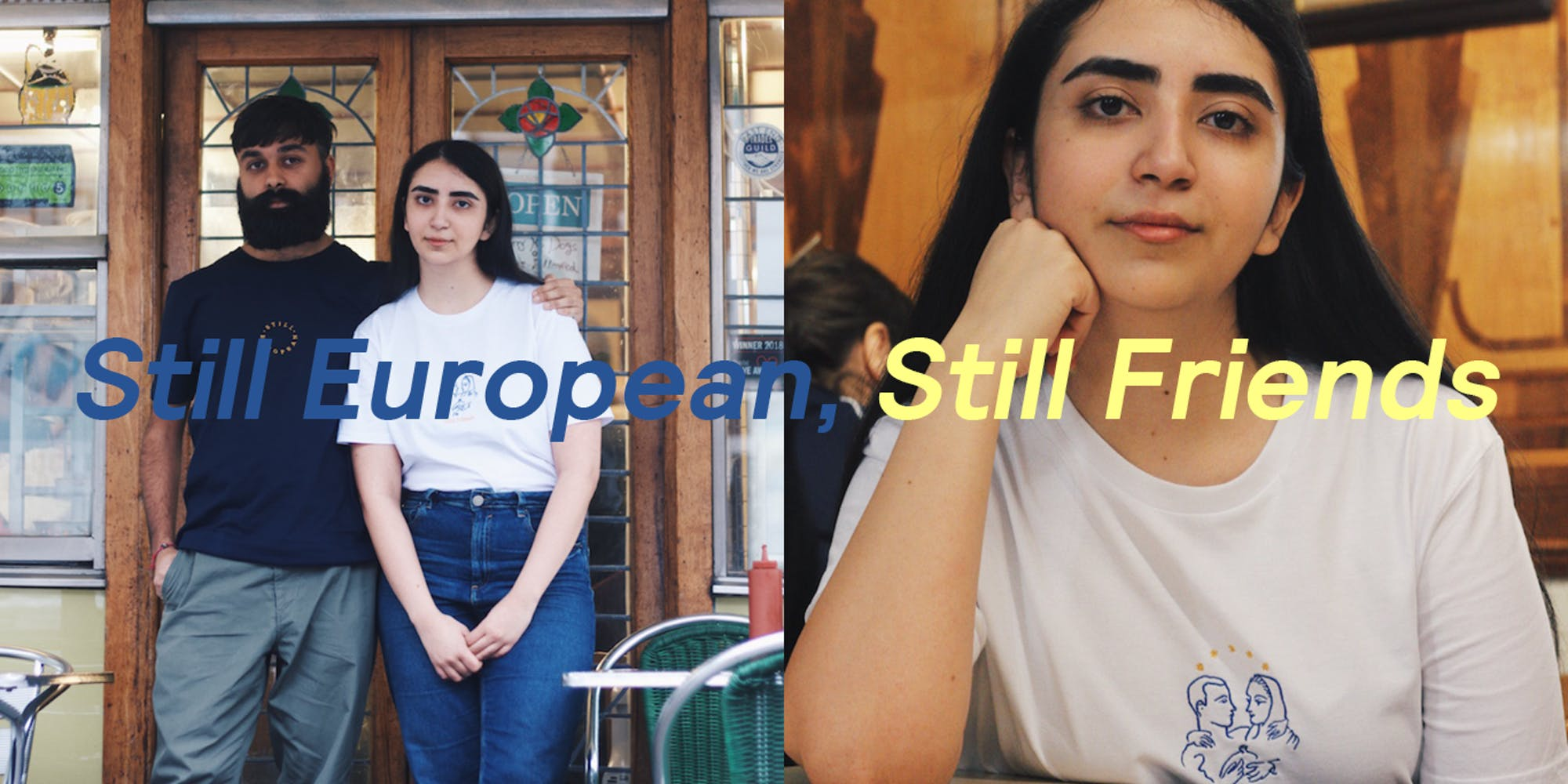 480b1b2fe1 Still European, Still Friends: Reaffirming Community During Brexit £10 – £15
