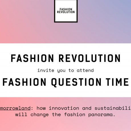Fashion Question Time at the V&A 2019