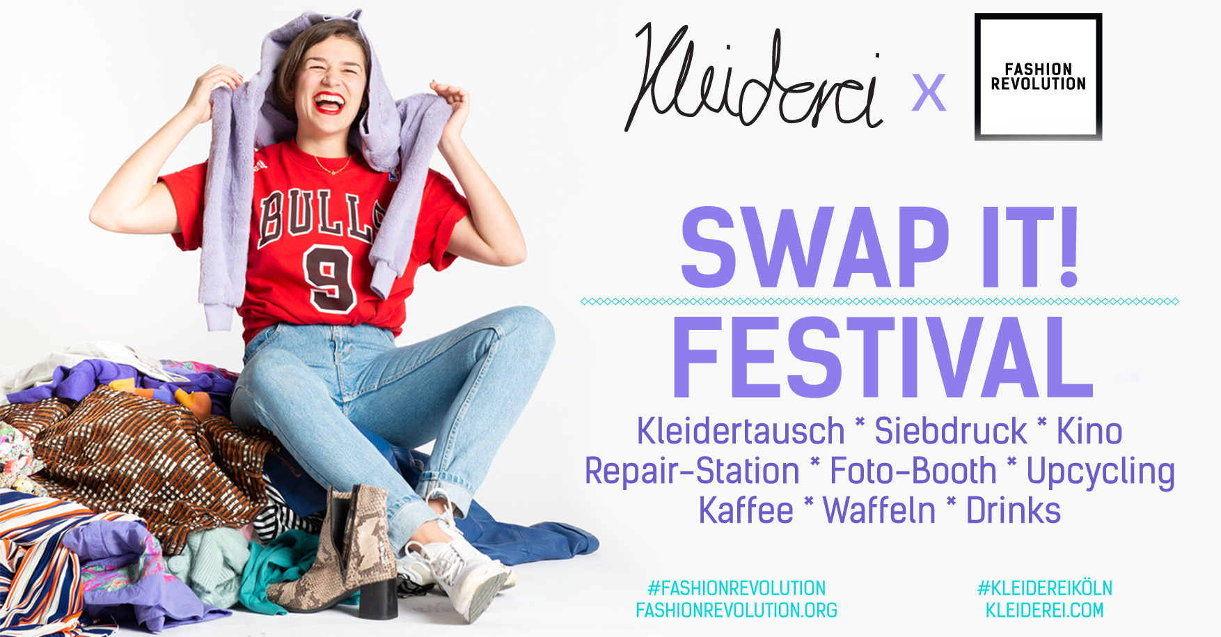 Kleiderei X FashionRevolution SWAP IT! Festival