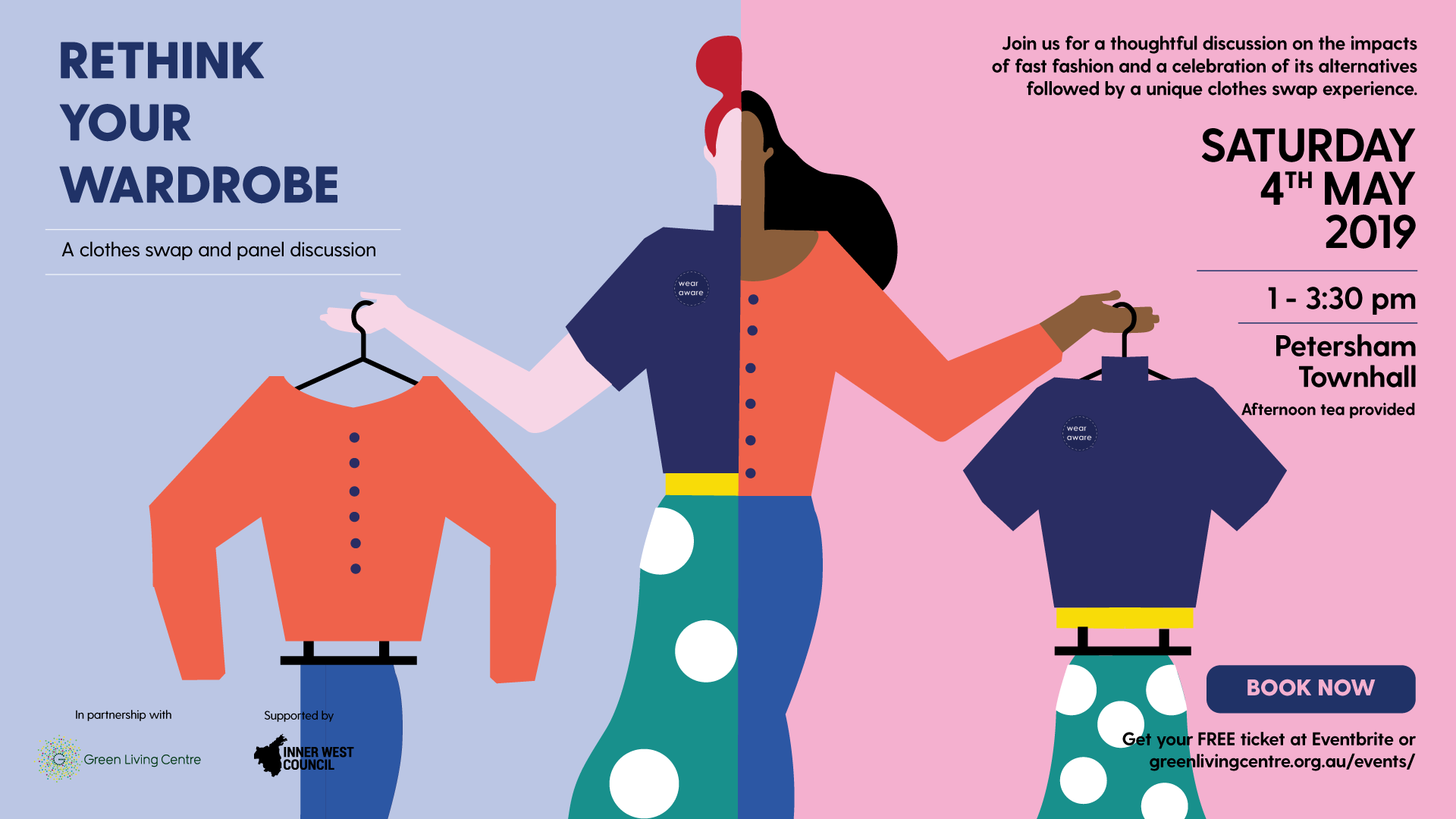 Rethink your wardrobe: A panel discussion and clothes swap