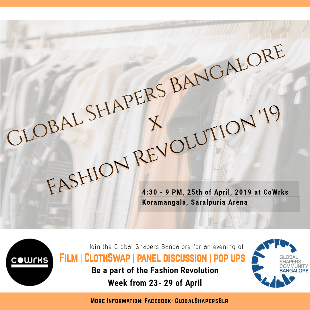 Bangalore Fashion Revolution Day