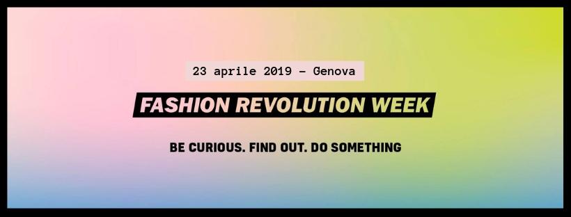 Moda, sostenibilità e arte. Fashion Revolution Genova