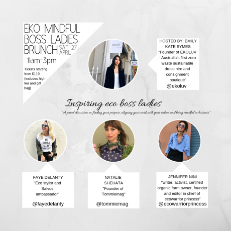 f9ea0b439b22 EKO MINDFUL BOSS LADIES BRUNCH £119.00