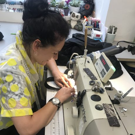 Chris Raeburn skilled machinist doing repairs