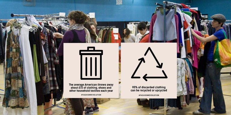 Chicago Ladies Clothing Swap! Fashion Revolution Week