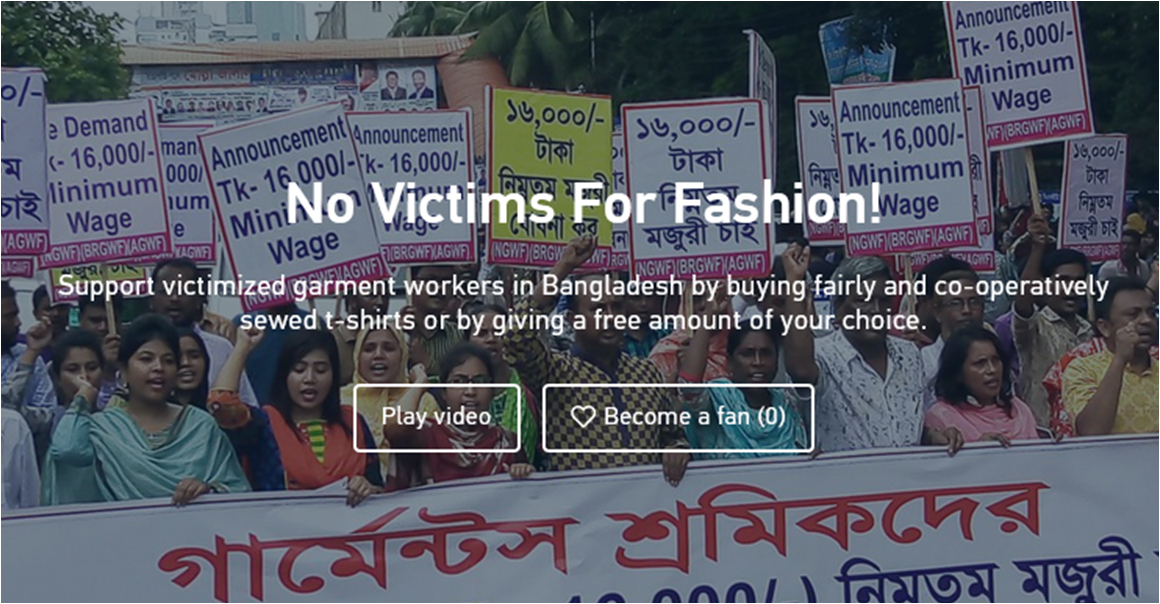 """NO VICTIMS FOR FASHION!"" 