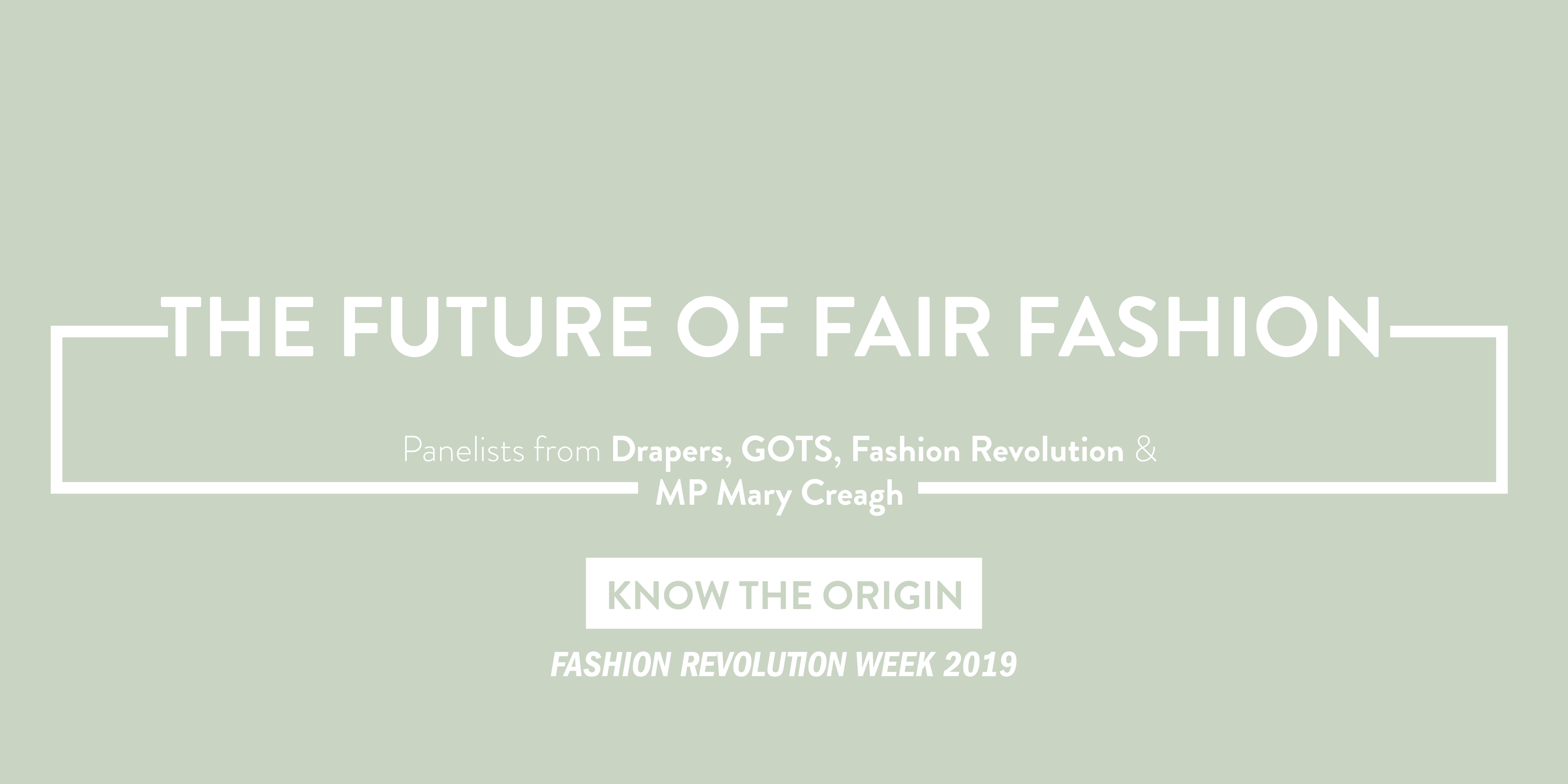 The Future of Fair Fashion Panel   Know The Origin