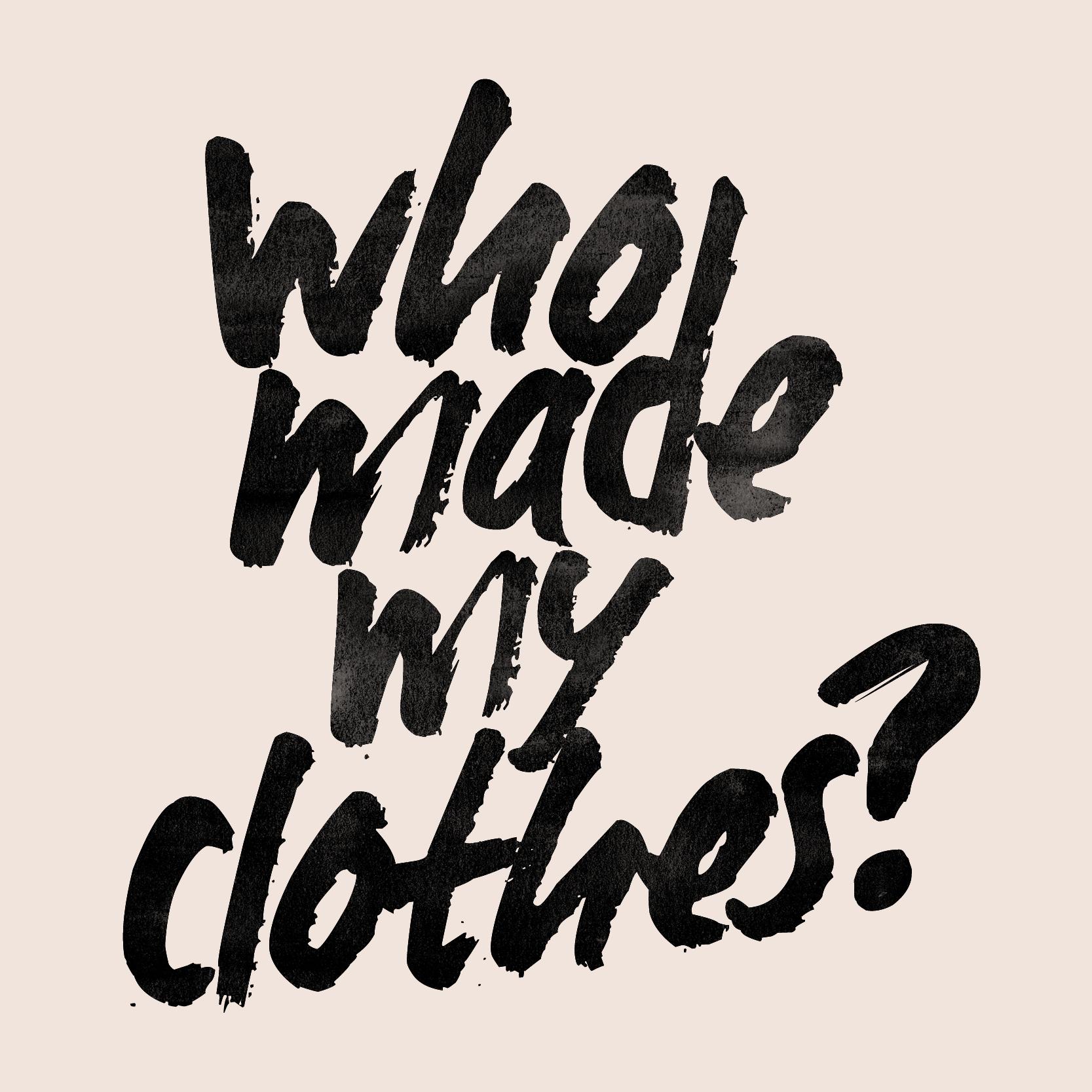 Prépare ta Participation à Fashion Revolution 2019!