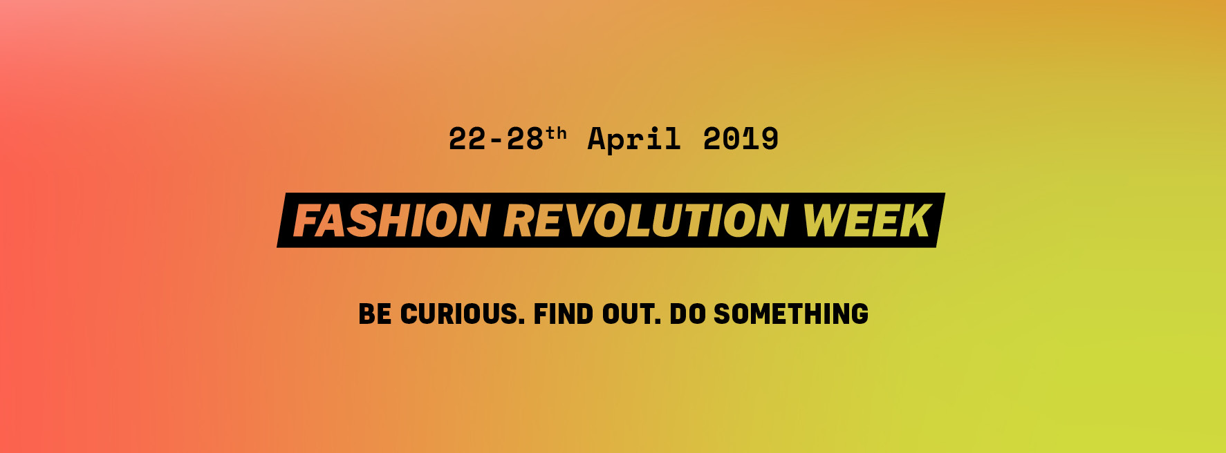 Fashion Revolution Week Košice