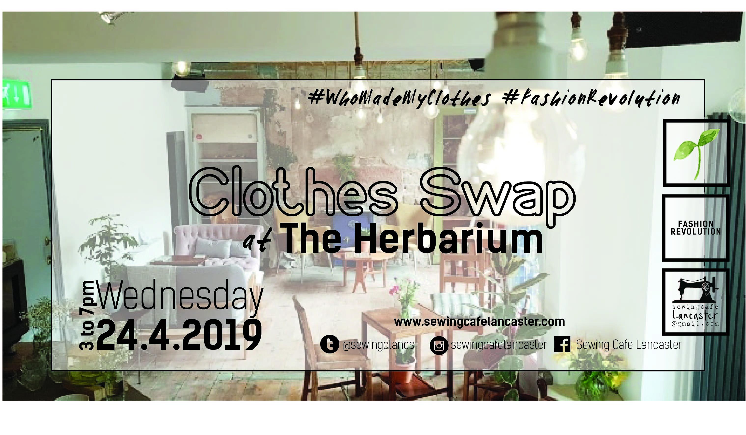 Clothes Swap at The Herbarium