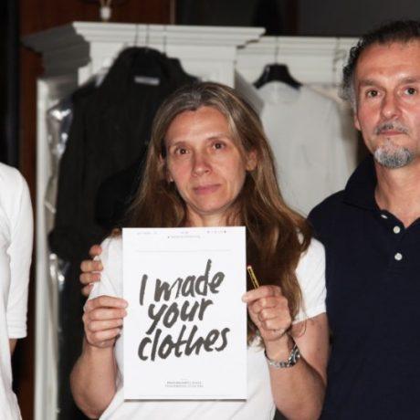 #WhoMadeMyClothes | Katharine Hamnett