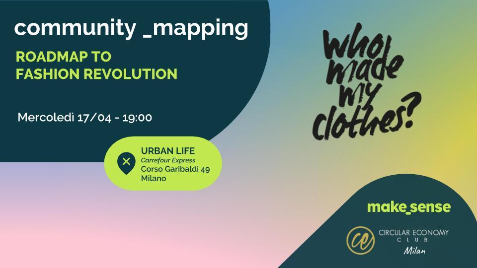 community_mapping | Roadmap to Fashion Revolution