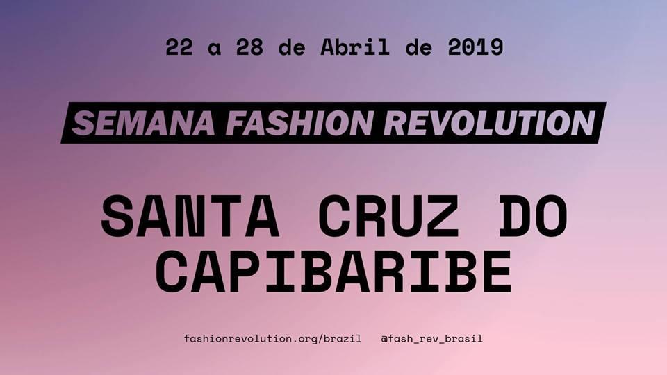 Semana Fashion Revolution – Santa Cruz do Capibaribe