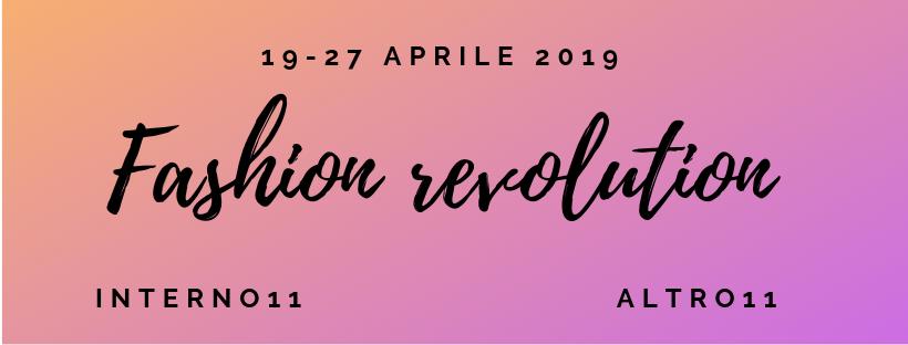 Fashion Revolution dell'11