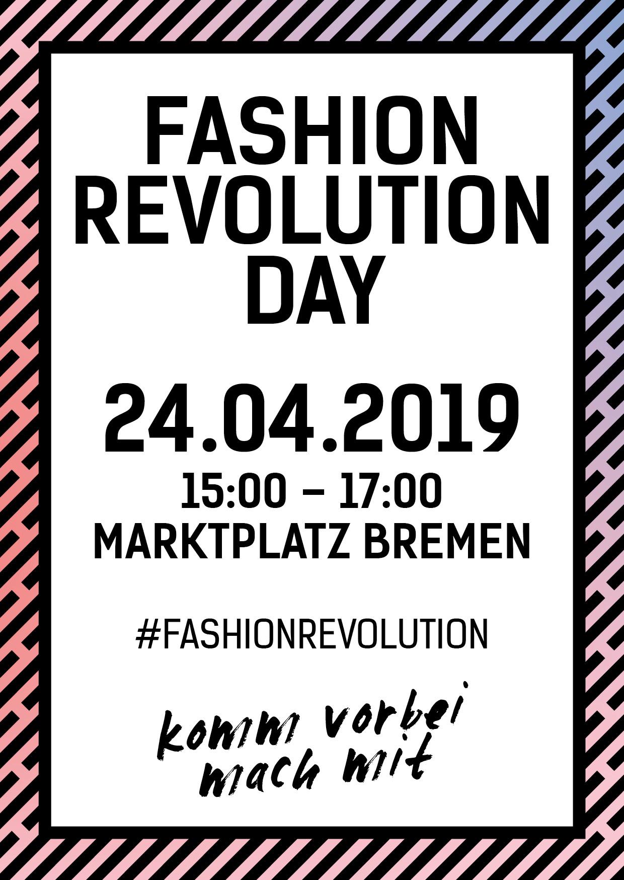 Fashion Revolution Day Bremen 2019