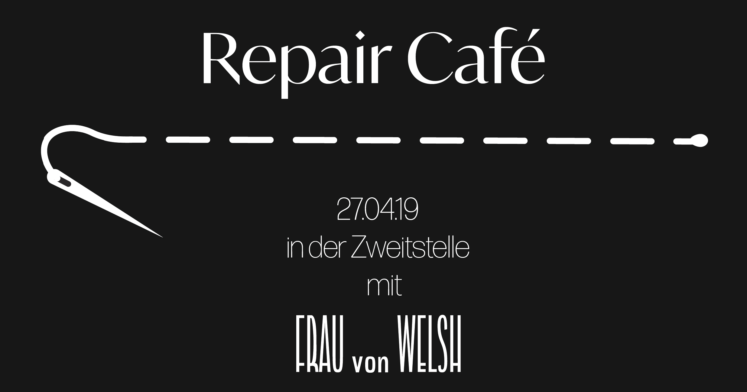 Repair Café für AnfängerInnen und Fortgeschrittene