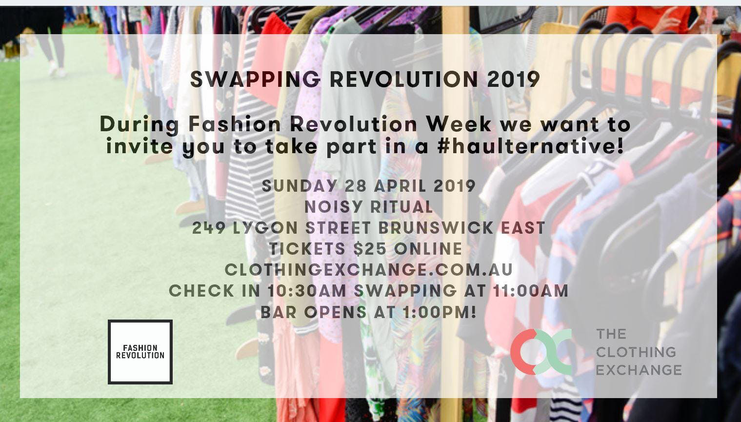 A Swapping Revolution 2019 – Melbourne