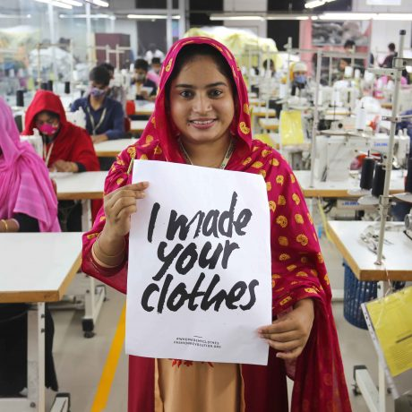 Ninety Percent shares the story of #whomadeyourclothes featuring Nurjahan Khatun