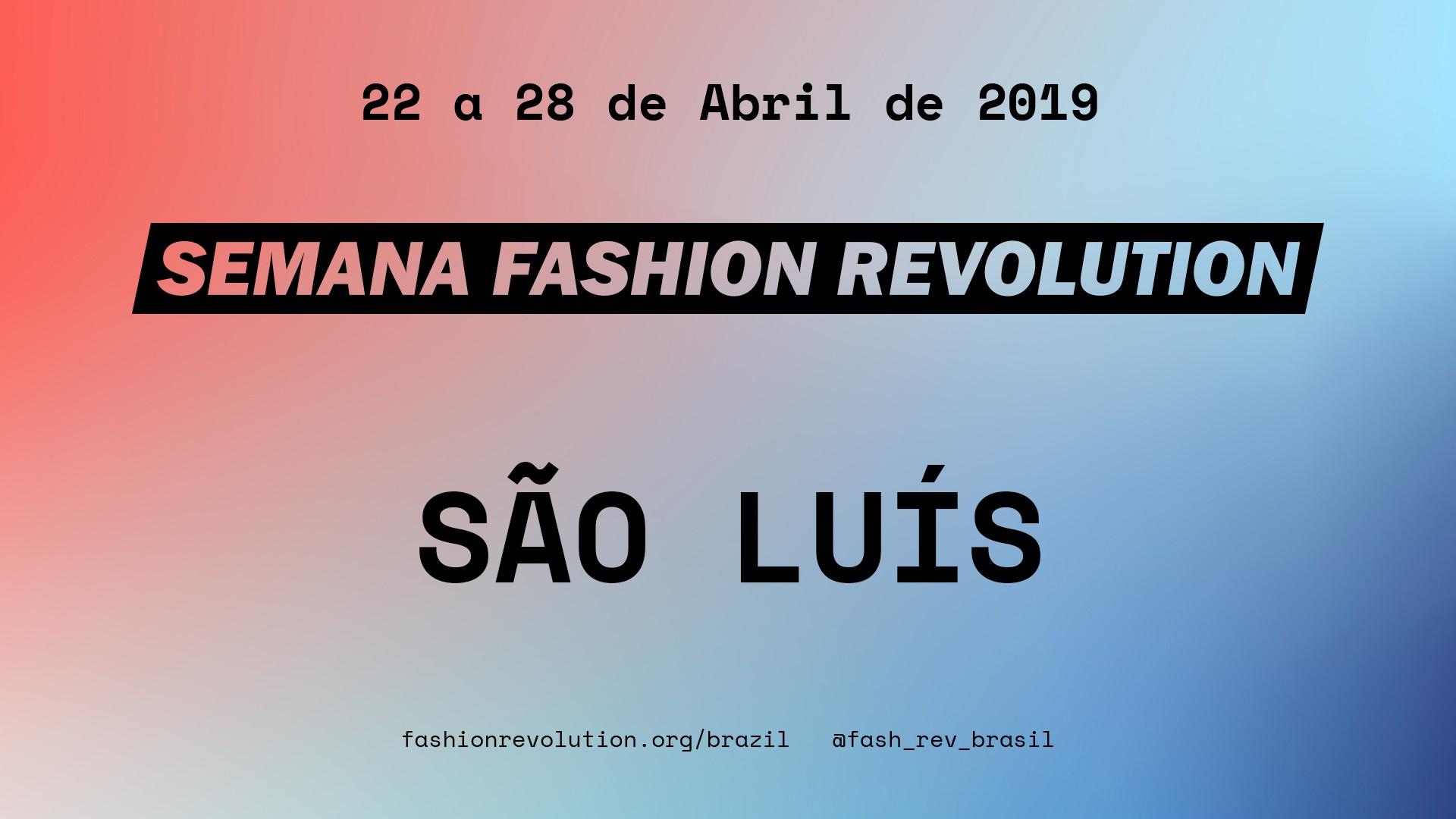 Fashion Revolution São Luís