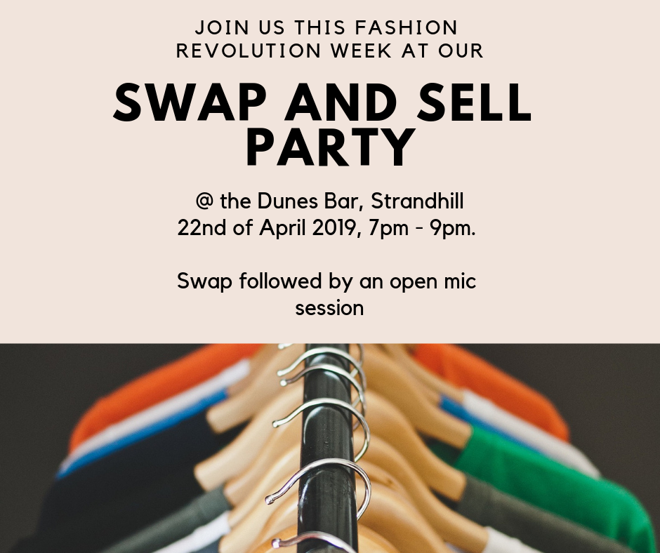 Fashion Revolution Clothes swap & sell party