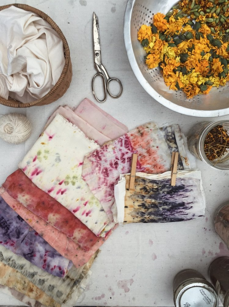 Natural Bundle Dye Workshop