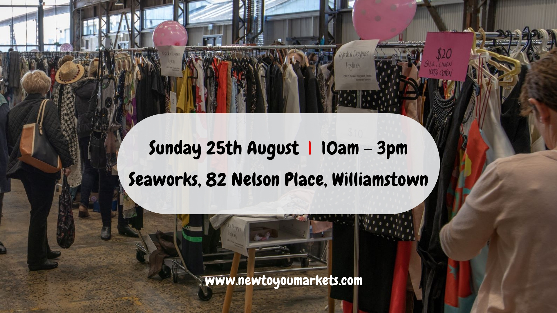 New To You: Preloved Clothing markets