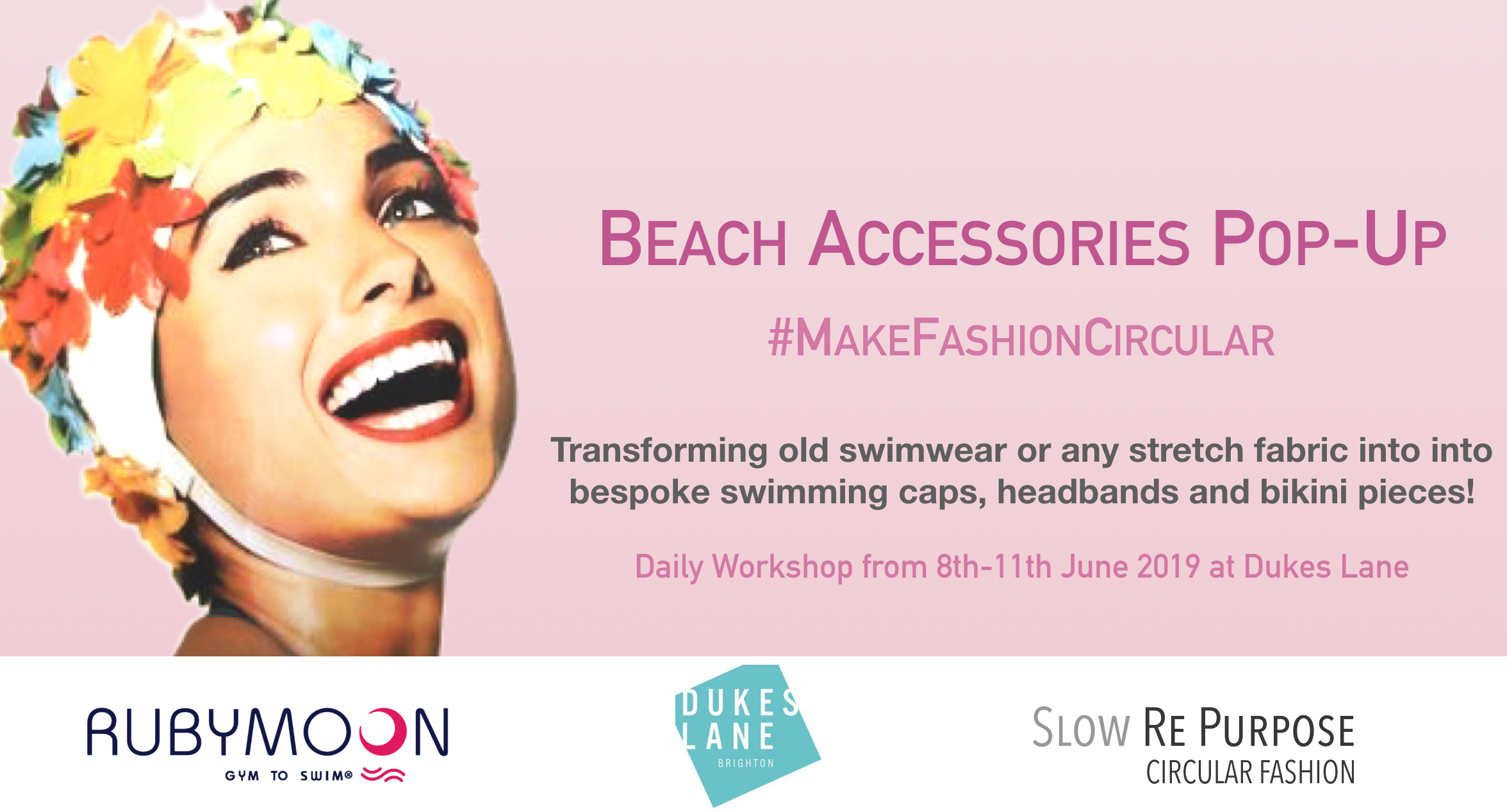 Beach Accessories Pop-Up #MakeFashionCircular