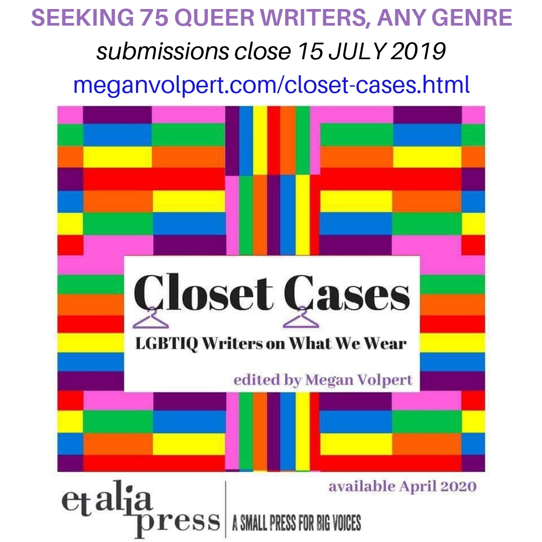 Call for Submissions: LGBTQIA+ Fashion Anthology