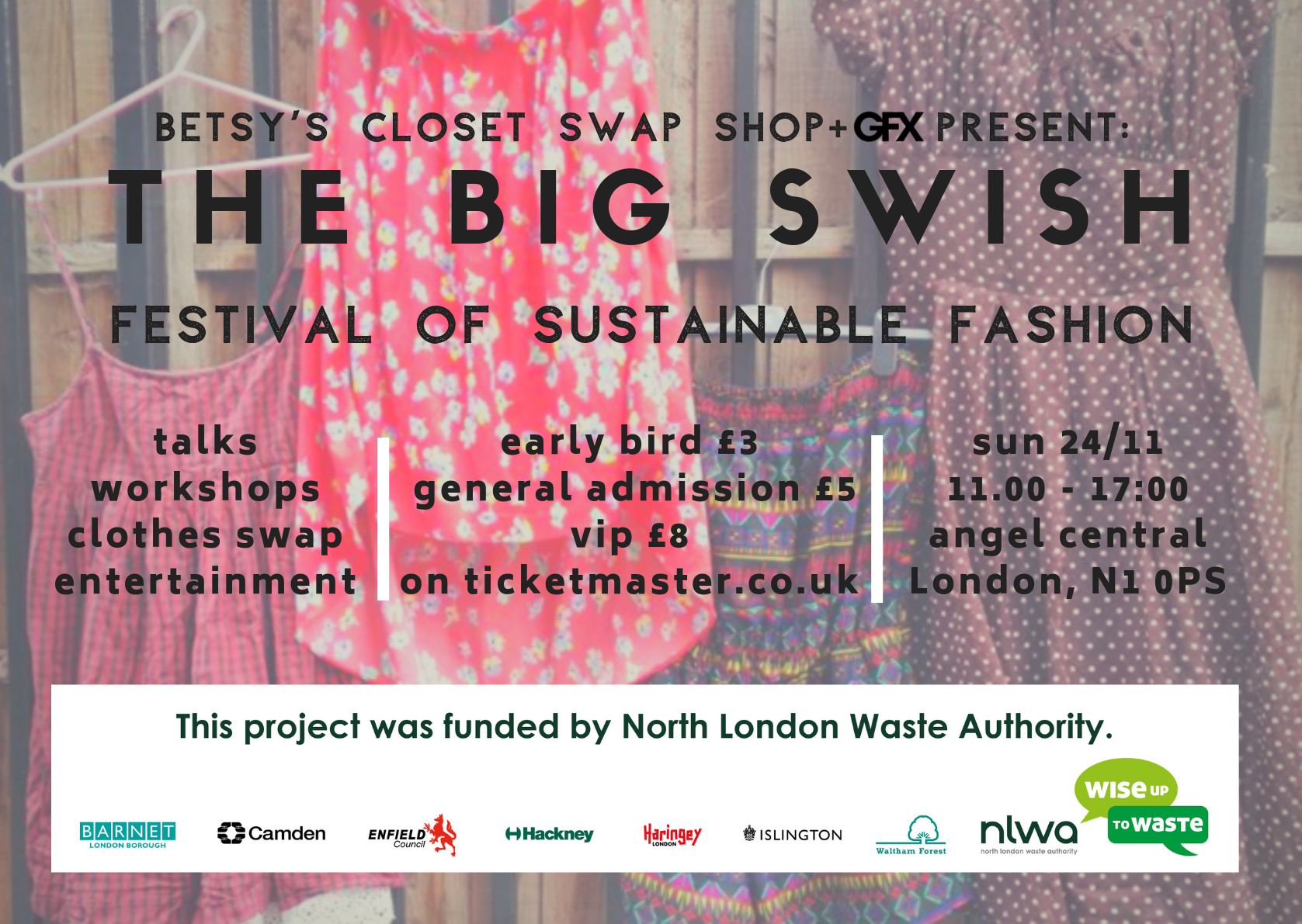 Betsy's Closet Swap Shop presents the Festival of Sustainable Fashion