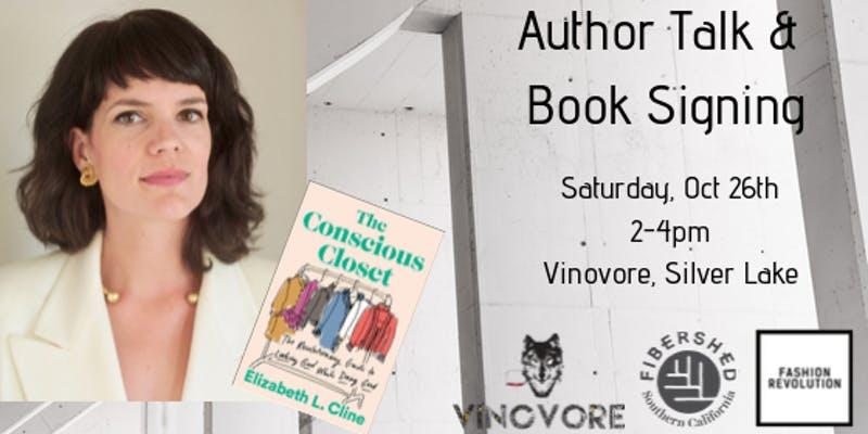 The Conscious Closet by Elizabeth L. Cline – Author Talk & Book Signing –