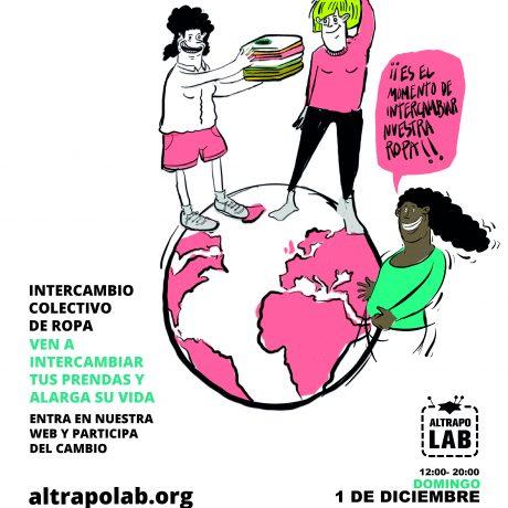 Intercambio colectivo de ropa – AlTrapoLab